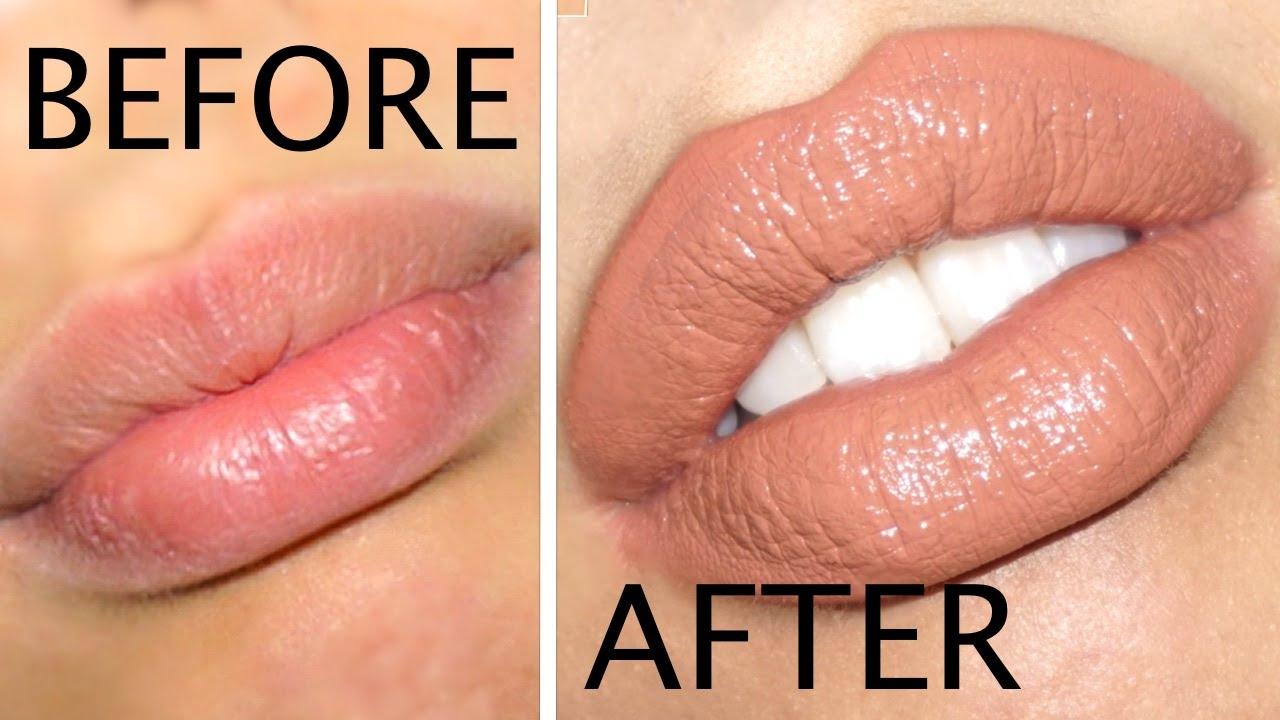 Make your lips look bigger